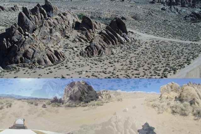 Biking Alabama Hills: Finding Caramel