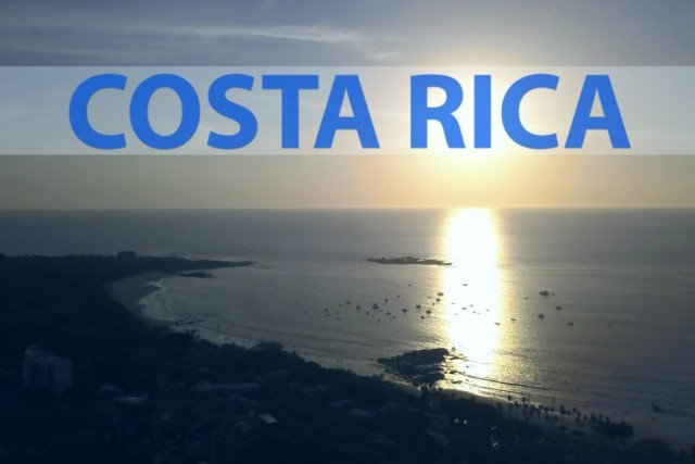 "Costa Rica by drone in 4K \""A LOVE STORY\\\"""
