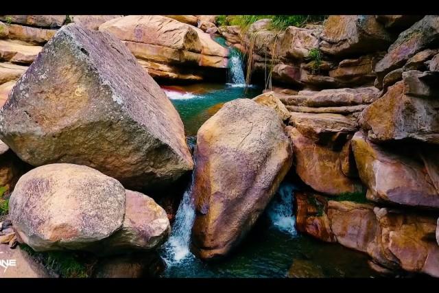 Pozo Azul, una maravilla natural en el Carmen de Tonchalá