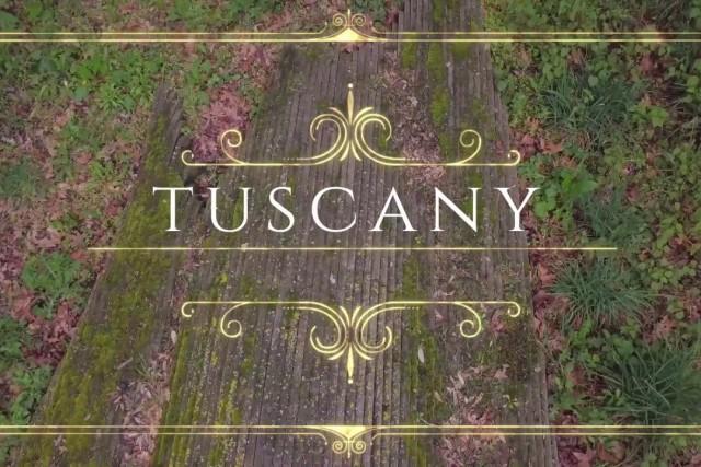 Tuscan spring essey