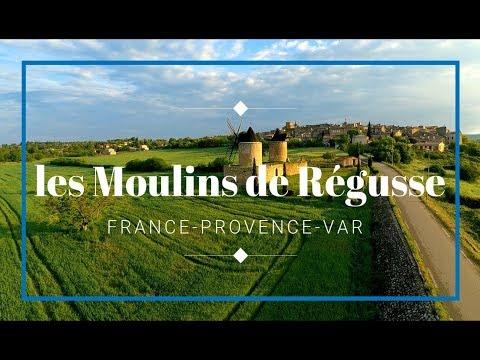 Windmills of Régusse France
