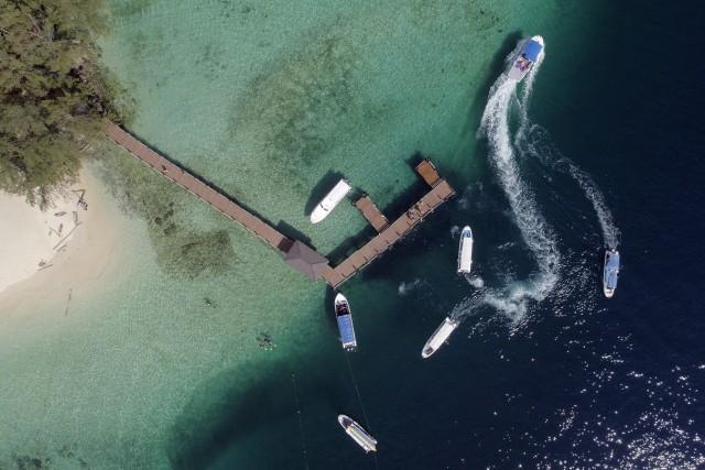 sapi island jetty