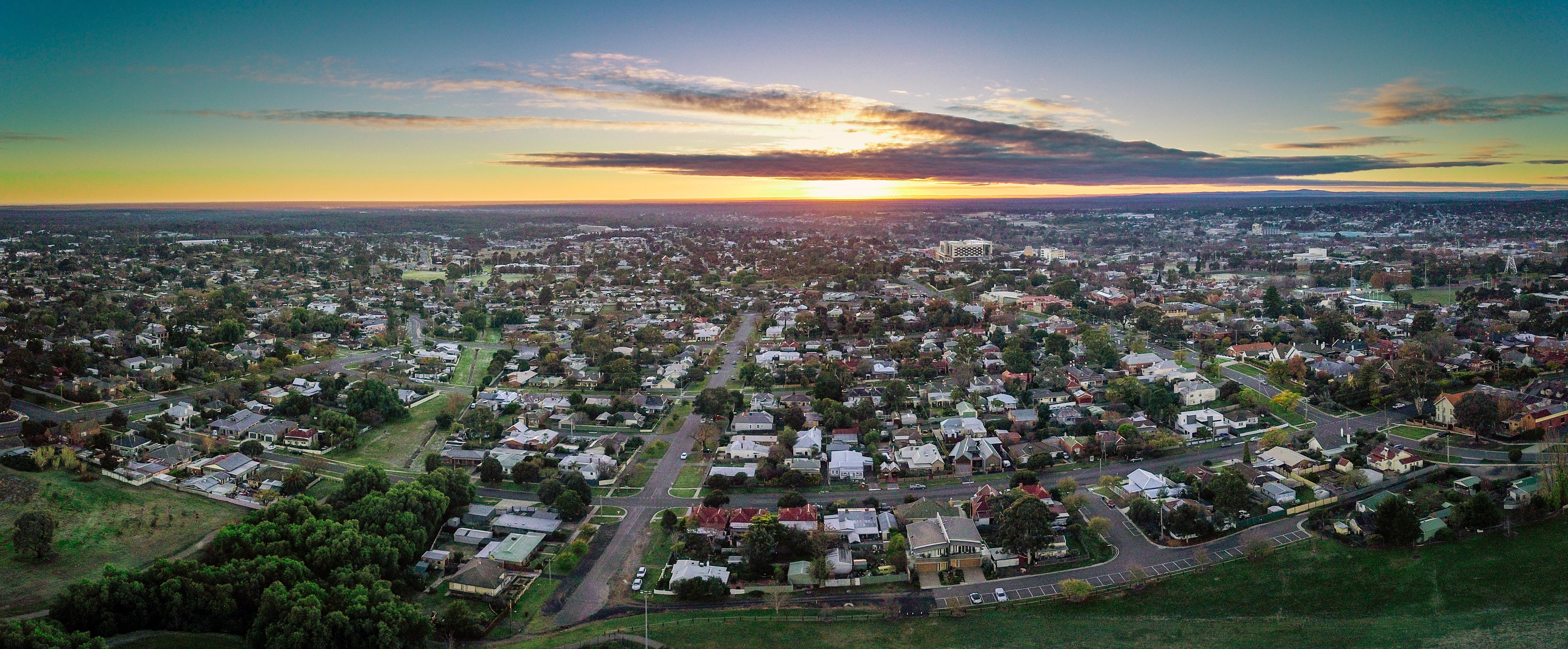 Sunrise Over Bendigo