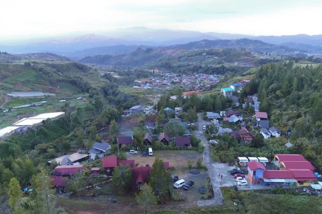 kiram's village, kundasang