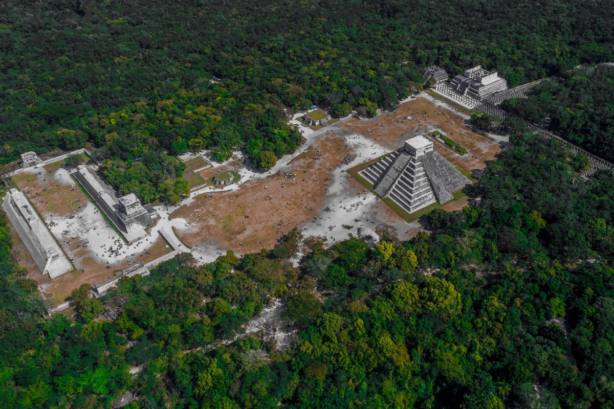 Mayan Age of Empires – Chichen Itza by Drone