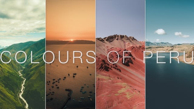 Colours of Peru | DJI Mavic Pro Platinum (4k)