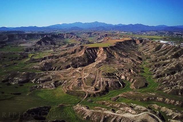 Analiontas hills