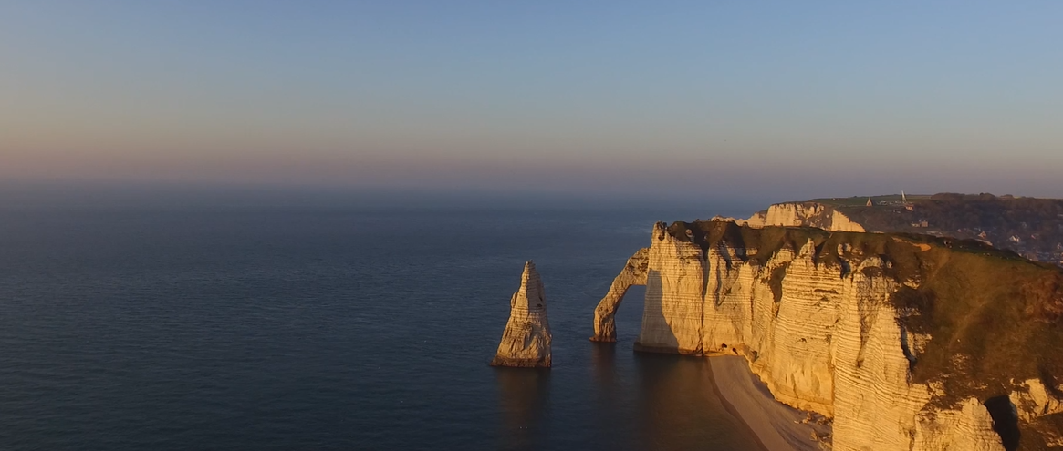 Cliffs Of Etretat Normandy France Dronestagram