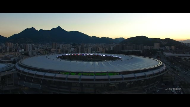 Flying on Maracanã Stadium