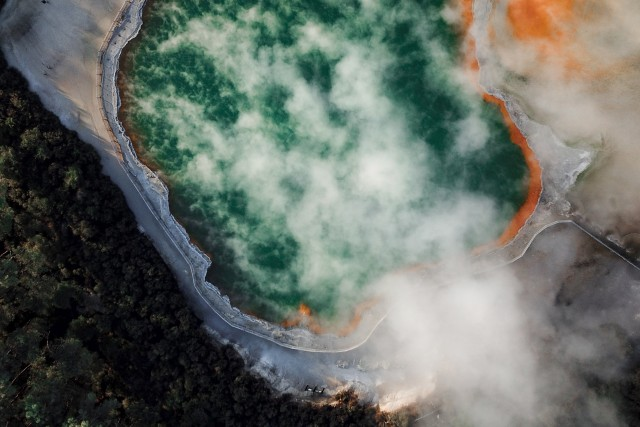 Geothermal wonders in New Zealand's North Island