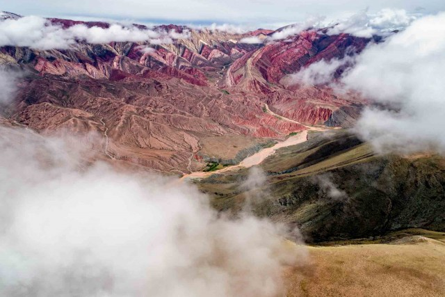 the hill of seven colours, Argentina