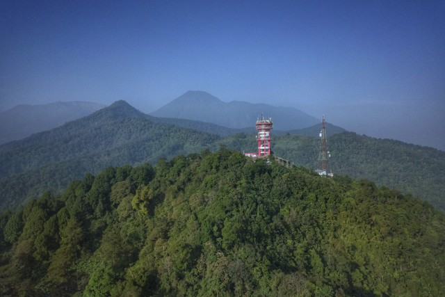 Red Tower Puncak Pass