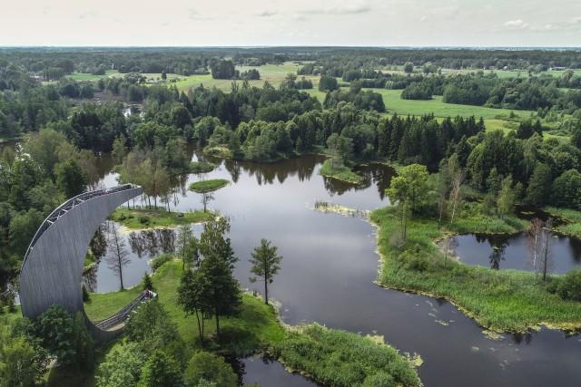 Kirkilas karst lakes