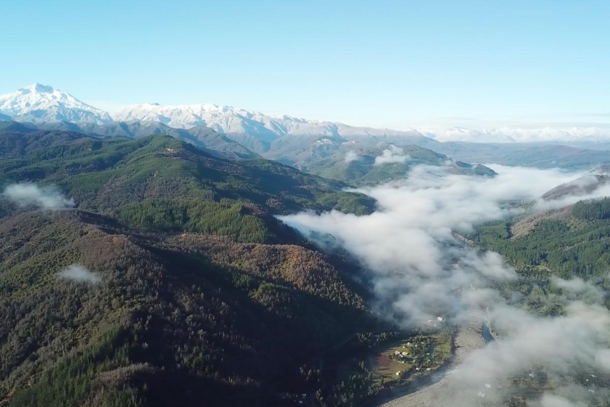 Volcán Nevado Longaví, Linares Región del Maule Chile
