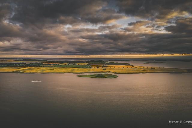 Gavnø [Gavnoe] island Denmark