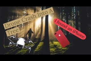 DJI Drone Crash, I Found an iPhone