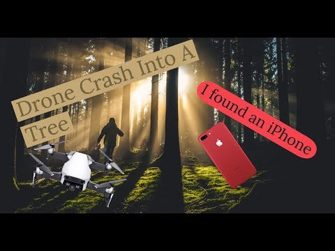 DJI Drone Crash, I Found an iPhone