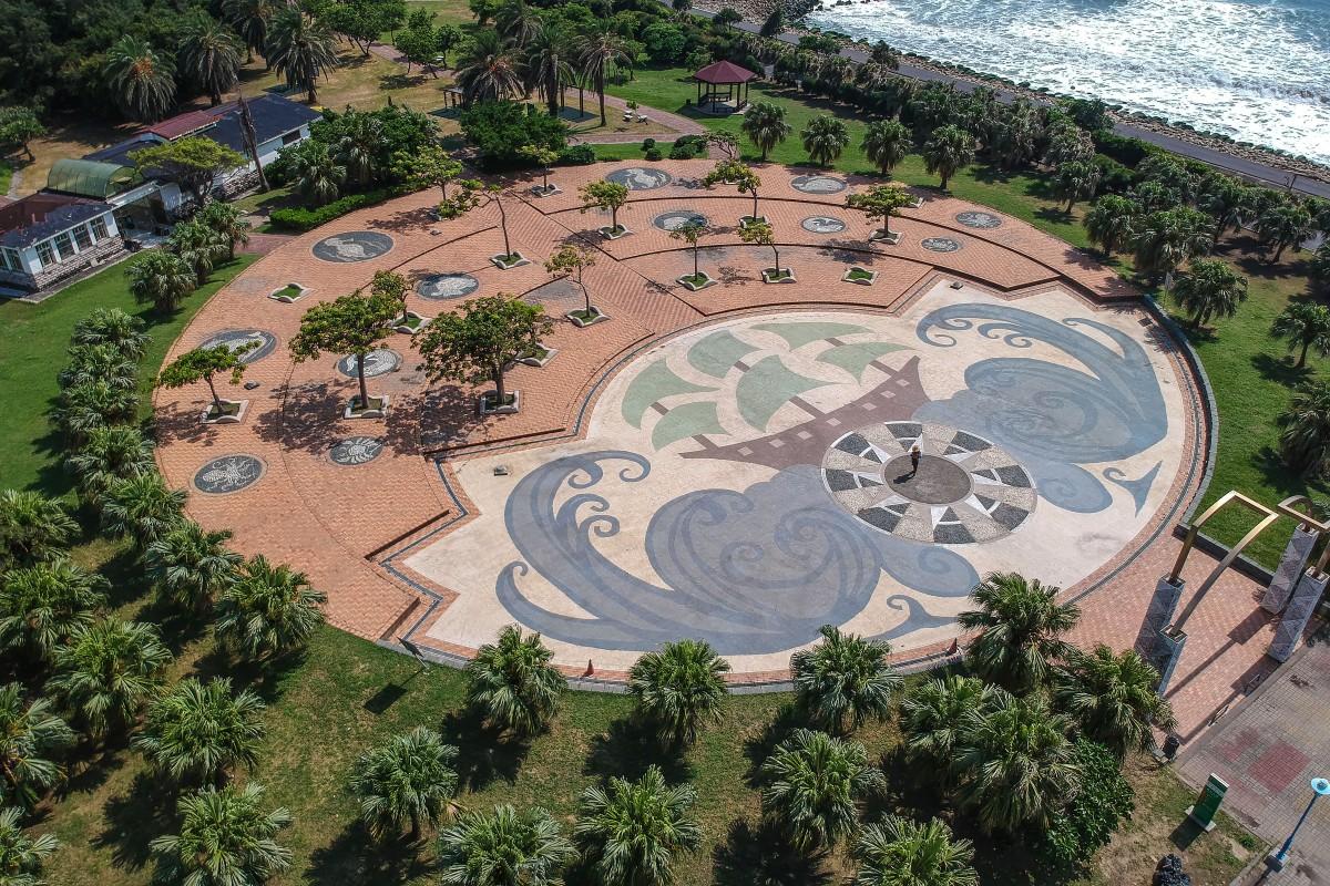 Park and beach Taiwan