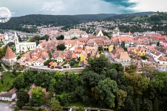 Old Centre Sighisoara Transilvania Romania