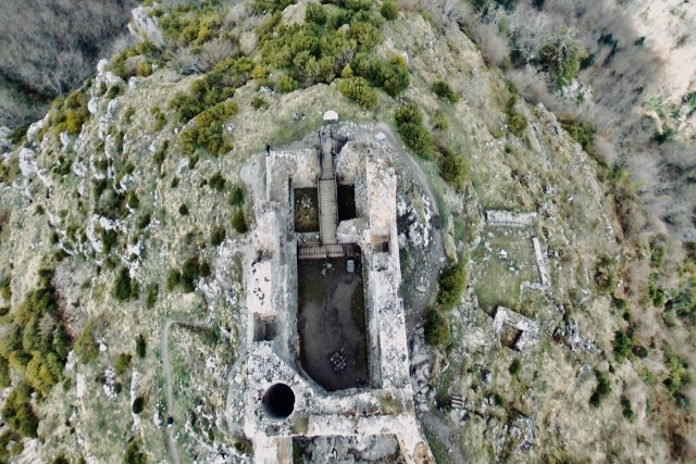 château cathare arrière