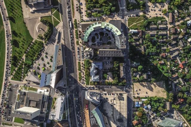 Vilnius skyline park is growing