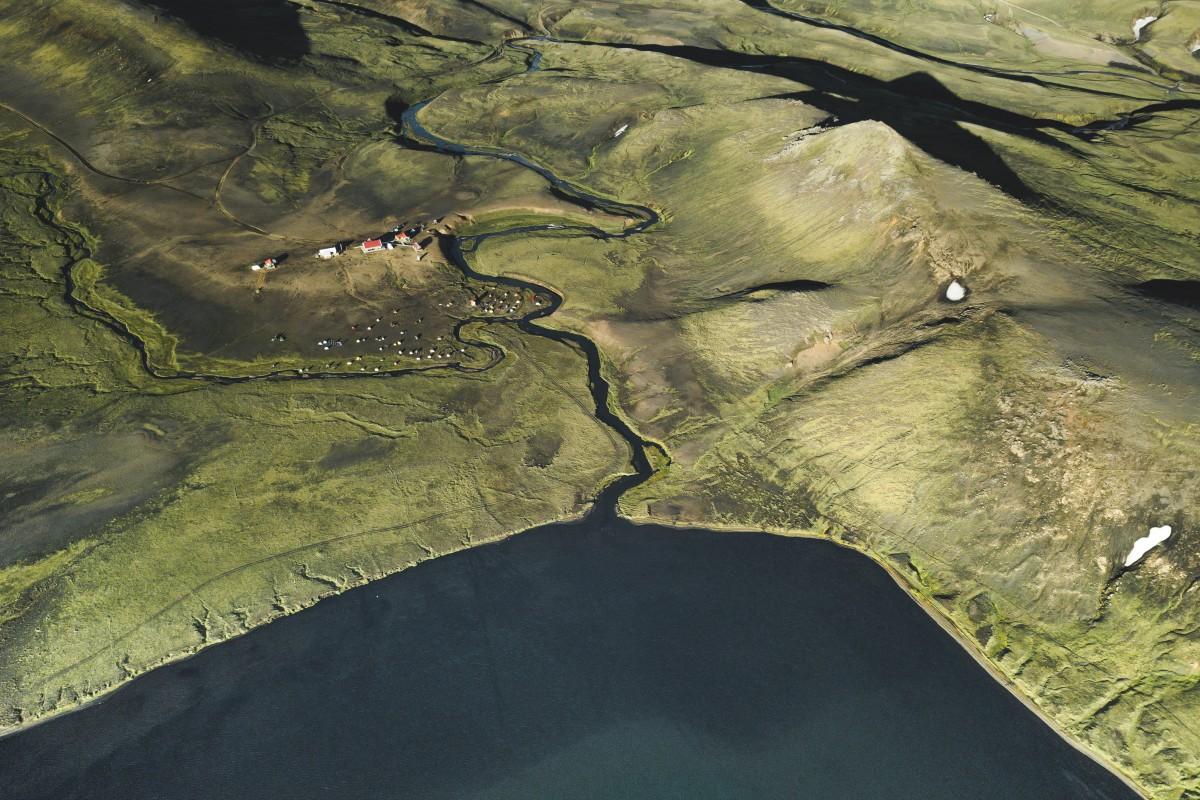 Alftavatn Hut