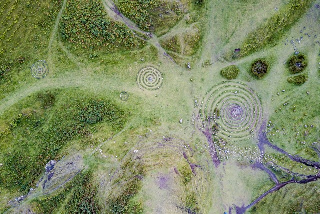 Celtic Rings at the Fairy Glen Skye