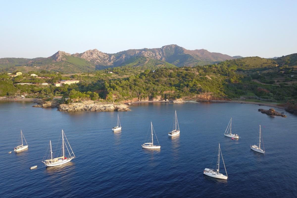 Barche a vela (Elba-Italy)