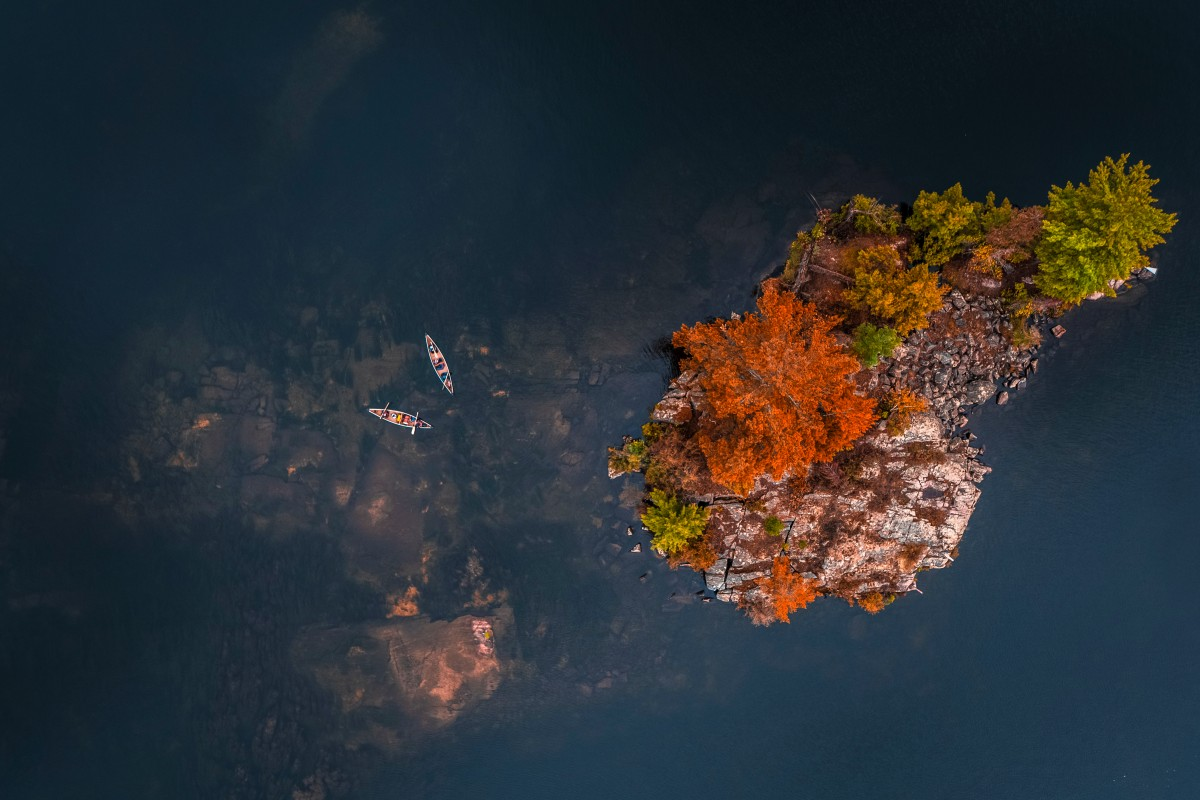 Paddle Into Fall