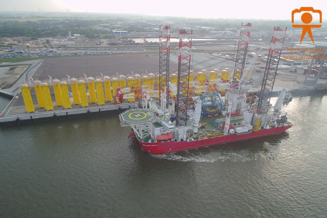 Seajacks Scylla ready for Deutsche Bucht