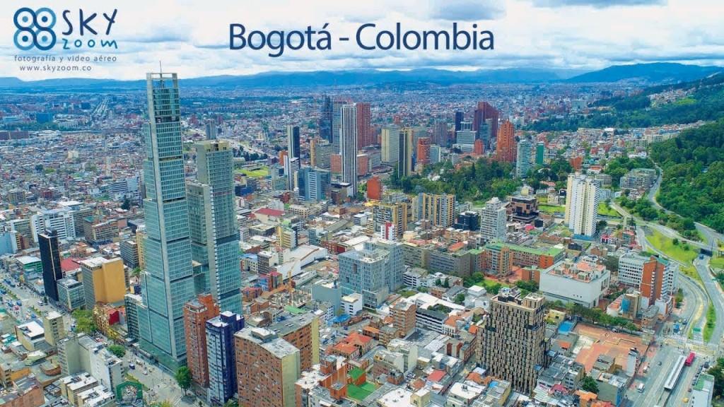 bogotá colombia desde un dron sky zoom dronestagram