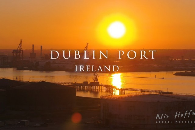 Dublin port Ireland