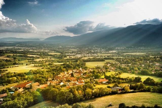 Vesancy, Pays de Gex, France