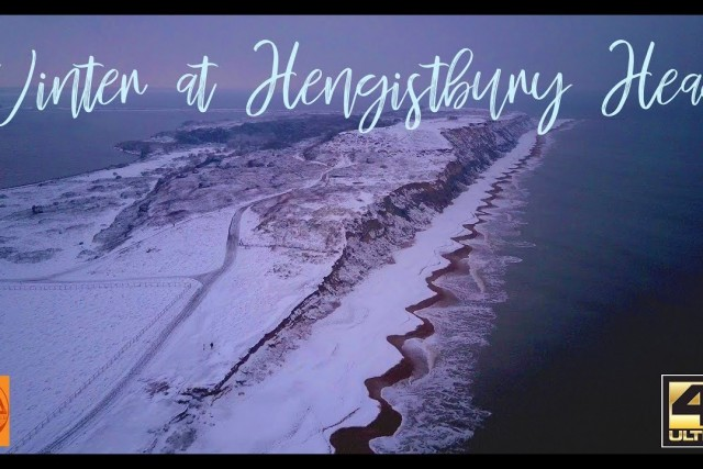 Hengistbury Head in Winter (Mavic/Osmo)