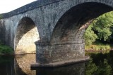 Old stone bridge at Llanerfyl