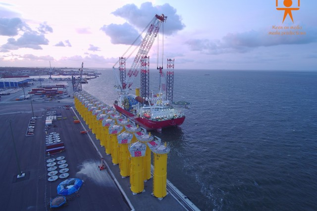 Seajacks Scylla ready for Feutsche Bucht
