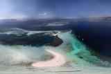 Pulau putih et pulau putih kecil (La plage Blanche)