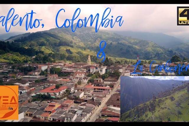 Salento & La Carbonera, Colombia. Paradise in 4K