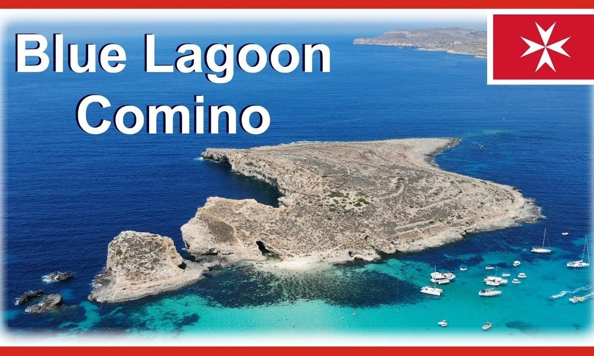 Blue Lagoon Malta – includes Comino Island drone video in 4k