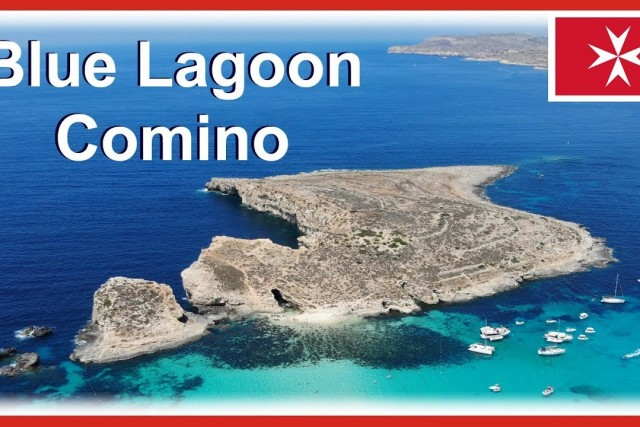 Blue Lagoon Malta – includes Comino Island drone video in 4k
