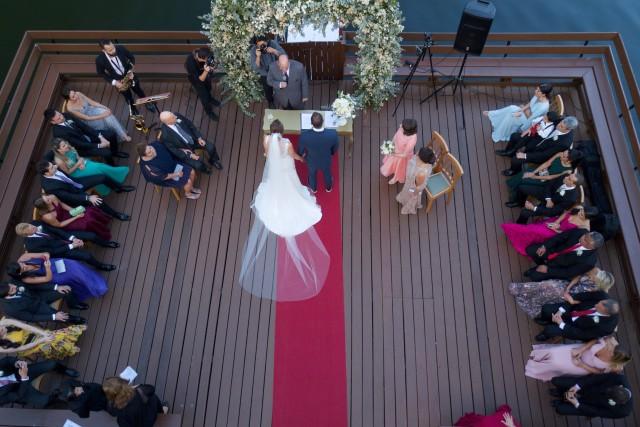The wedding in Rio de Janeiro