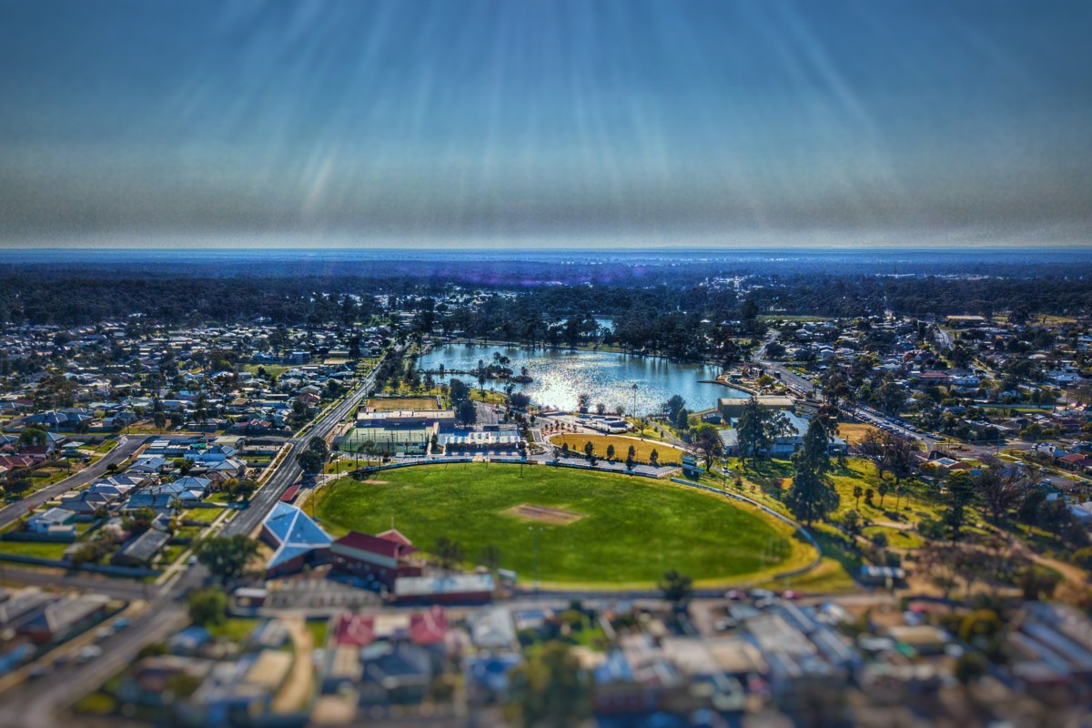Aerial View of Eaglehawk