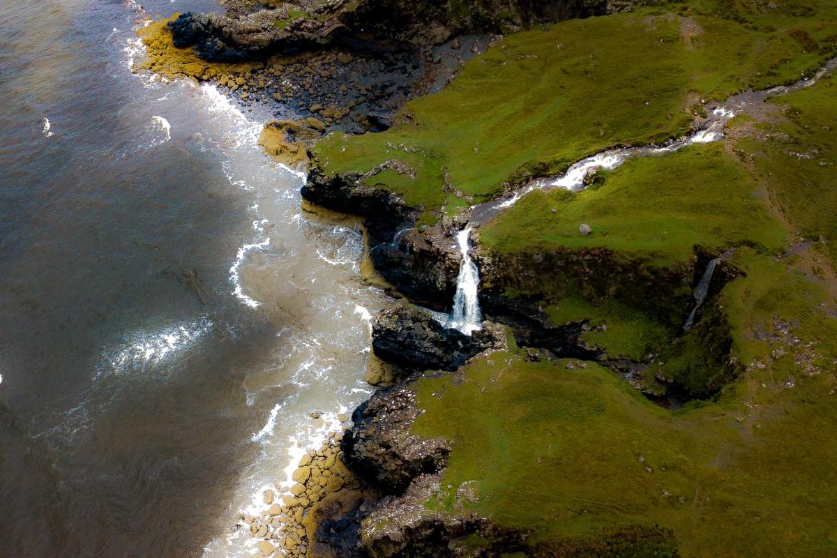 Rocky coast line Glen Brittle