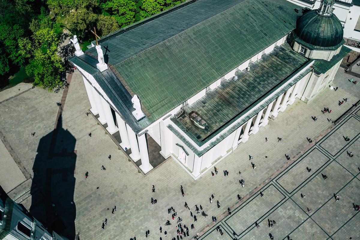 Salsa Rueda at Cathedral Square, Vilnius