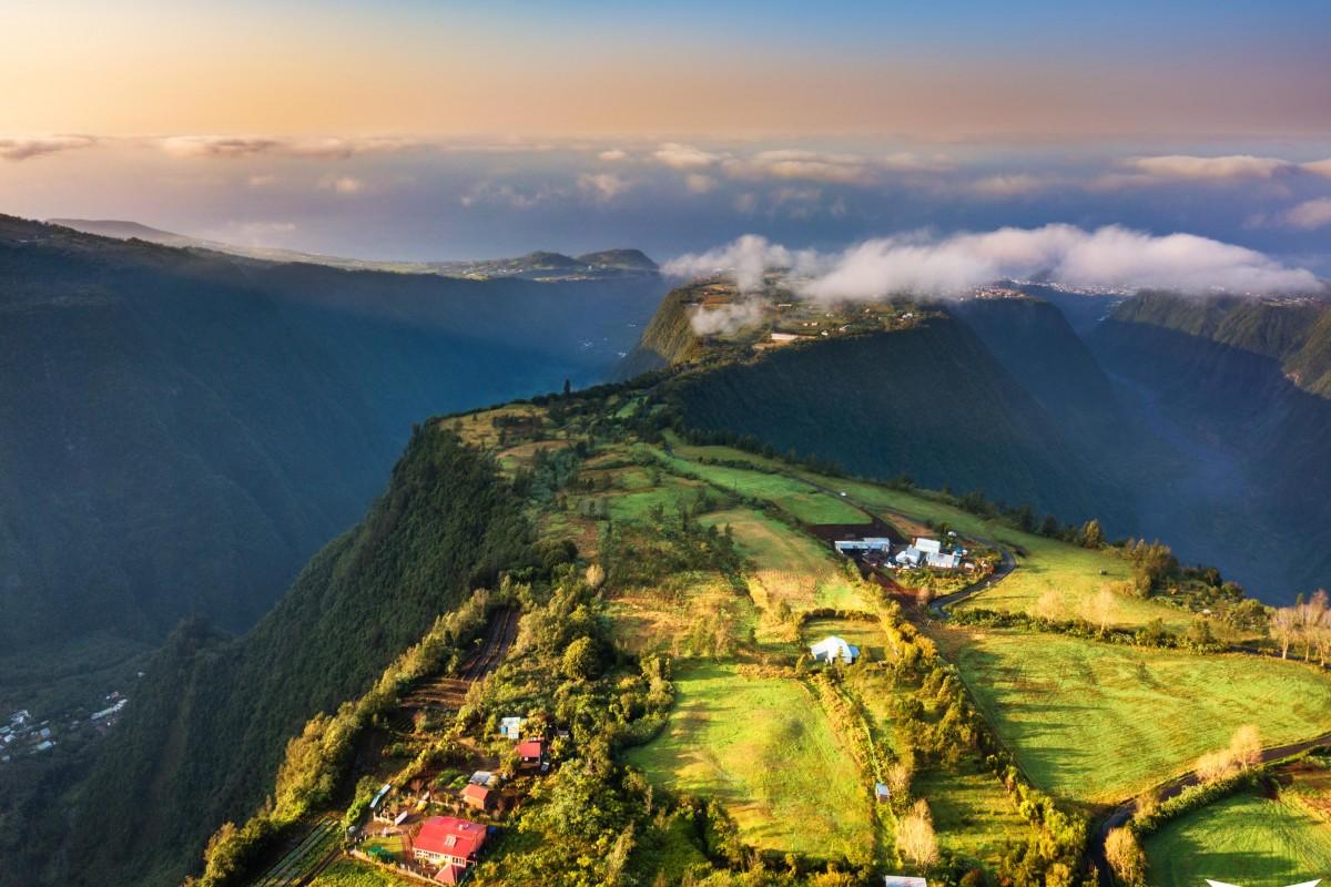 Grand coude, île de la Réunion