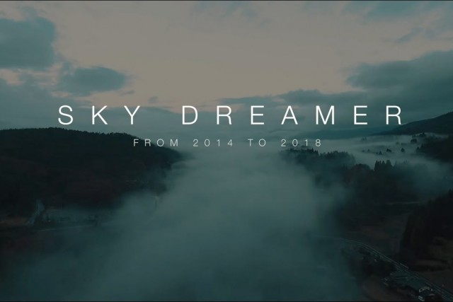 Sky Dreamer – My history with Dji Drones