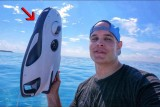 This Under Water Drone Conquers the Ocean… in 4K!