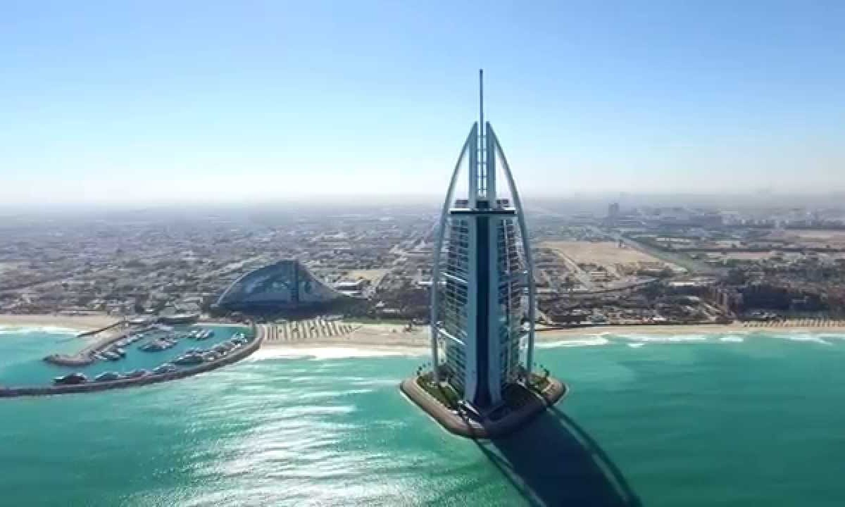 NPro+ Drone Video in Dubai in 4K (DJI Inspire 1, Phantom2)