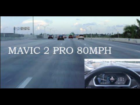 mavic 2 pro 80MPH… sort of