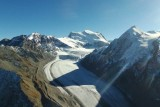 Parrot Disco Drone Flight 1000m up in Alps Mountain Glacier at 3200m altitude !!!